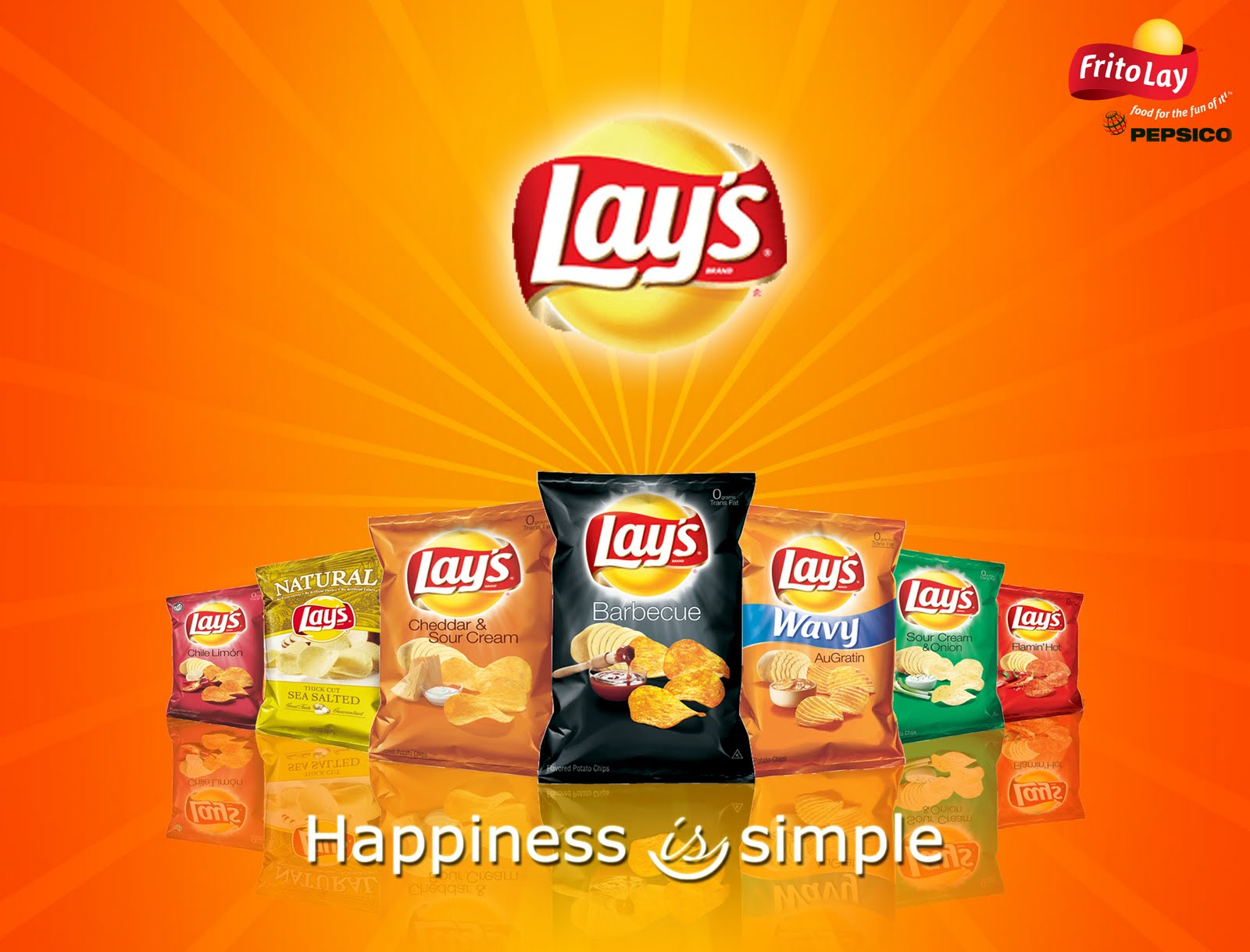 Lays Ad Layout