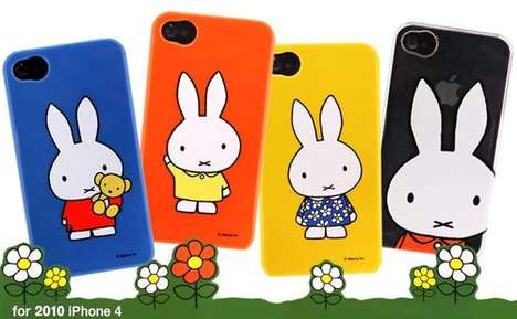 iphone 4 covers. iPhone 4 Bunny Cartoon Covers