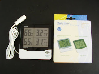 Indoor/Outdoor Hygrothermometer