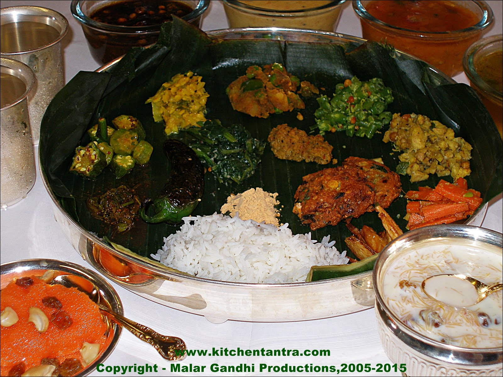 Tamizhar virundhu tamil nadu meals happy new year for Aharam traditional cuisine of tamil nadu