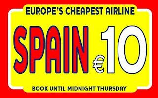 Promoções Low-Costs: Ryanair