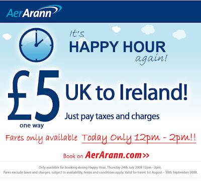 Promoções Low-Costs: Aer Arann