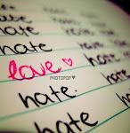 Te odio,