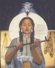 """White Buffalo Calf Woman"" your Twin Deer Mother"