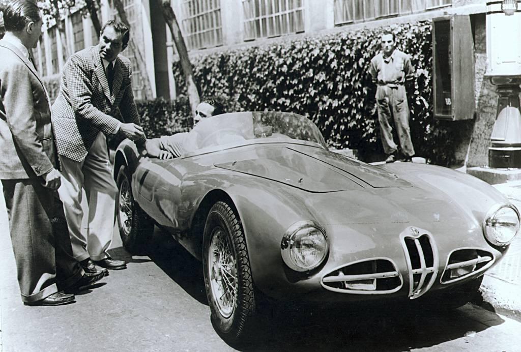 Alfa Romeo 158 1947 - 1950. Alfa Romeo C 52 Disco Volante 2000 Spider 1952 -