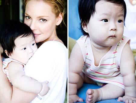 White Asian Baby