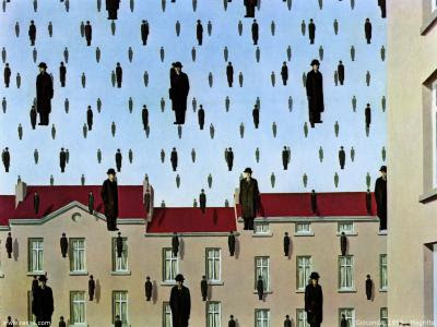 René Magritte Golconda+Rene+Magritte