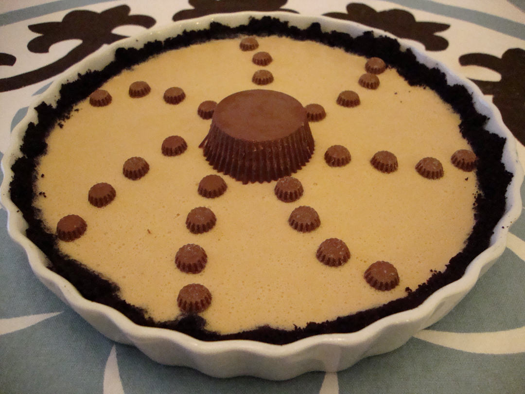 my back pages: chocolate-peanut butter pie