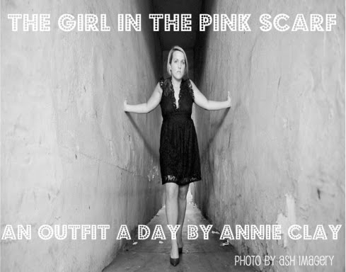 The Girl In The Pink Scarf...