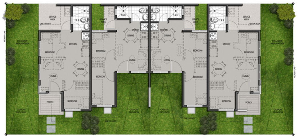 Multi Pod Unit Floor Plan
