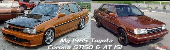 my 1985 toyota corona st150 at151 rh yau myworld blogspot com toyota corolla 1985 manual Toyota Corona 1990