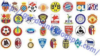 logo club sepak bola eropa