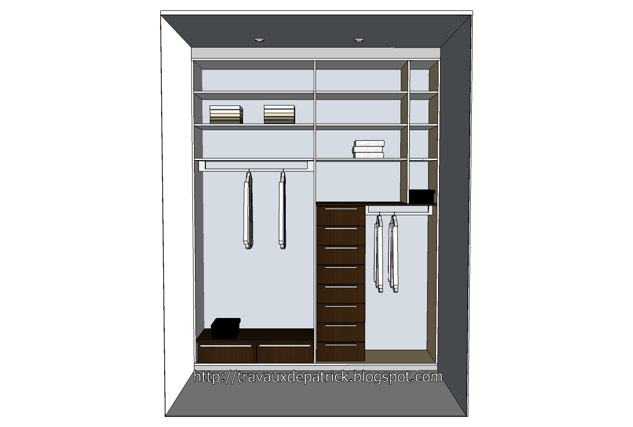 plan dressing google sketchup. Black Bedroom Furniture Sets. Home Design Ideas