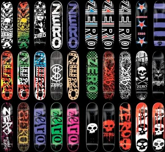 Zero Skateboard GraphicsZero Skateboard Graphics