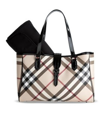 Vanessa and Valentine: The Baby Diaries: Burberry Diaper Bags