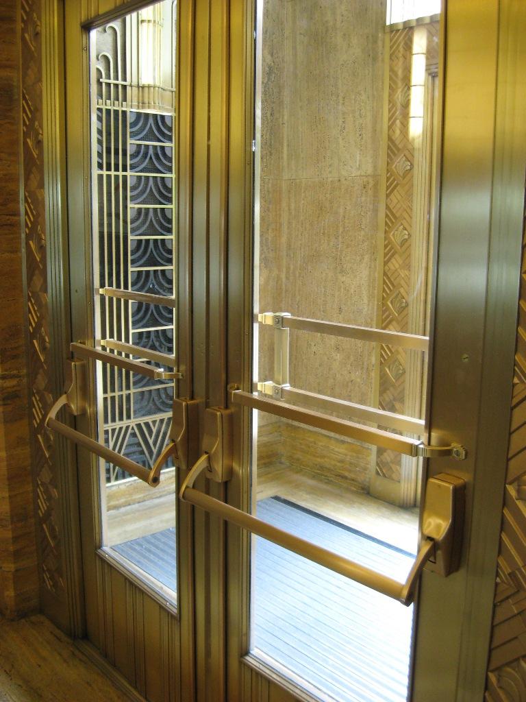 1930u0027s era solid Bronze Door Restoration. Great collaboration with  Arcane Metal Arts  and  Custom Door Services . The Doors were fatigued and loose. & HEAVY METAL WORKS: Bronze Door Restoration -