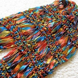 Jeweledelegance Free Pattern Drop Stitch Scarf