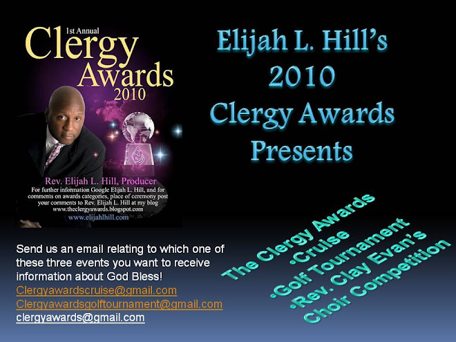 2010 UP-In-Coming Events Click on This Flyer for Facebook ClergyAwards Fan Page Join the Movement