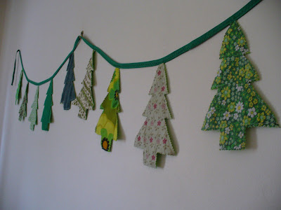 Sadieandlance christmas bunting Make your own christmas bunting