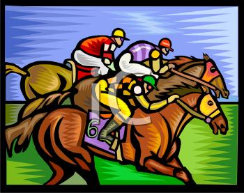 Race Horse Racing Clip Art for Pinterest