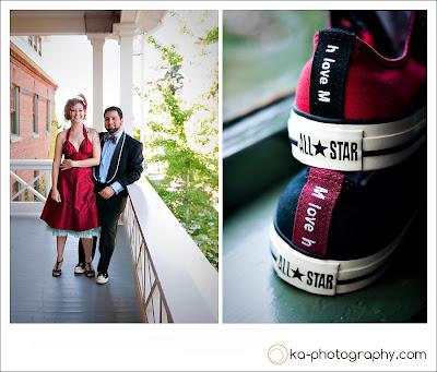 Katie anderson wedding website