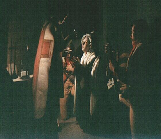 Confession de la Reine avec l'abbé Magnin. Marie99