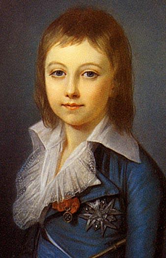 Louis XVII in Art Louis_Charles_of_France6