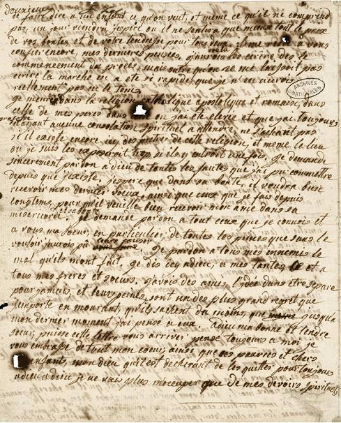 Marie-Antoinette's Letters Testpage2io3