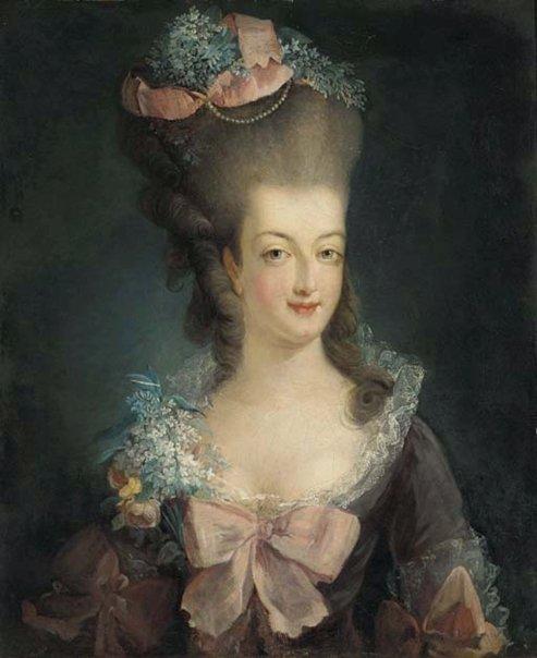Marie-Antoinette in Art MAbouffant