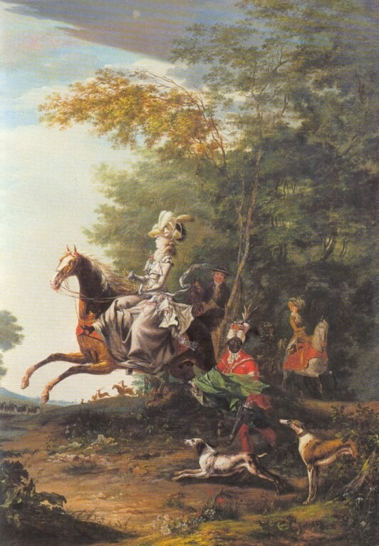 Events in the Life of Louis and Antoinette MAhunting