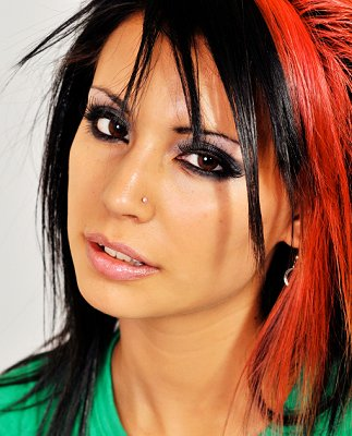 medium length punk hairstyles
