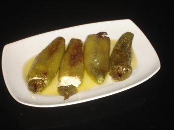Greek Stuffed Green Peppers with Feta Recipe