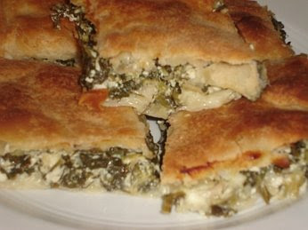 Greek Spinach Pie - Spanakopita Recipe