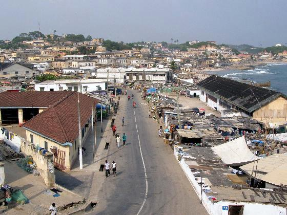 cape coast ghana pictures