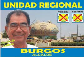 El candidato del Pueblo José Antonio Burgos Ramos
