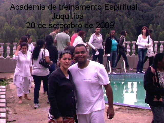 Vania e o espiritualista Francisco Borges