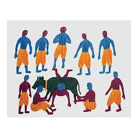 bajju shyam gond tribe india