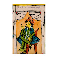 scroll painting west bengal india