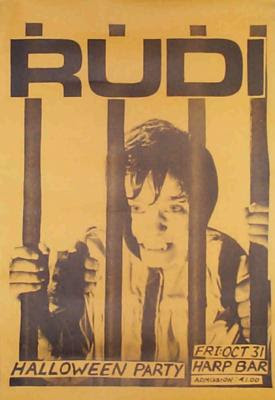 Rudi Big Time 1978 good vibrations records ireland punk