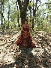 mi vestido de mujer-árbol danzado en el Huixteco