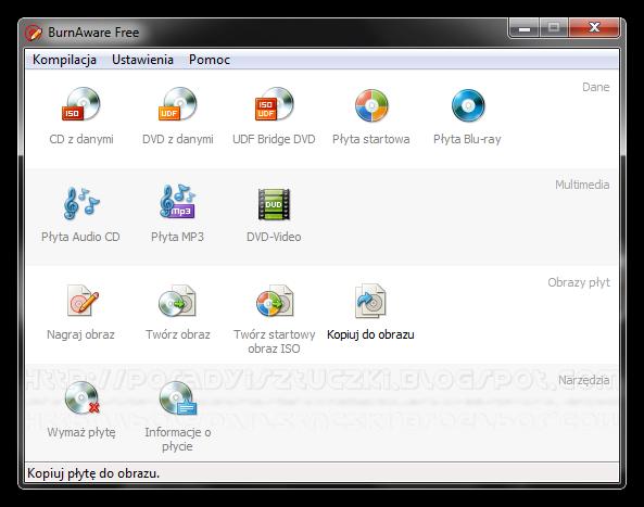 BurnAware - простая и в тоже время мощная программа для записи и копировани