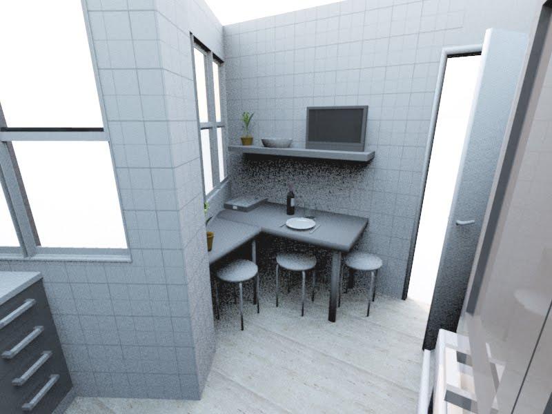Dise O Interior 3d De La Cocina De Mam Iii Dise O