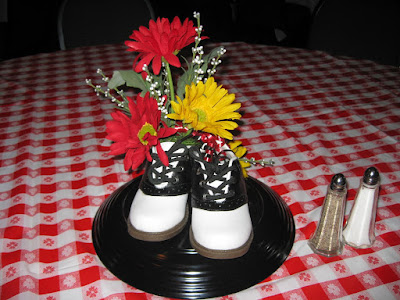 1950s theme party supplies 50s centerpieces and tableware for 50 s party decoration