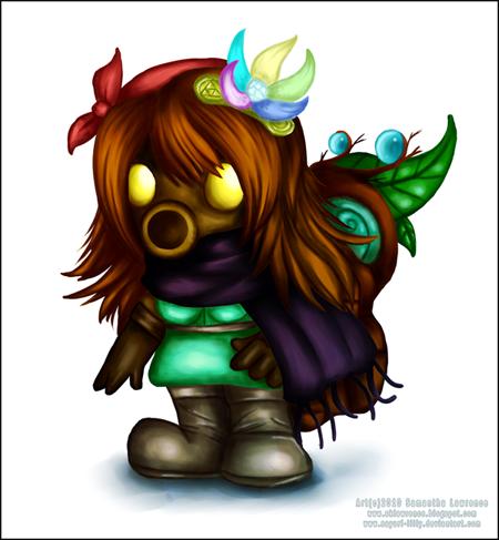 Lilly Deku Scrub - Character Profile Lillyblog