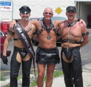 Hot gay men doing physical activities
