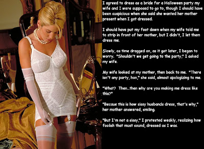 Forced Feminization Captions Blog http://saragirlsissyconfessions.blogspot.com/2009/02/captions.html