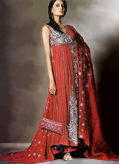 Bridal Wear Red Dresses Online, Bridal Patiala, Chudidaar, Sarees