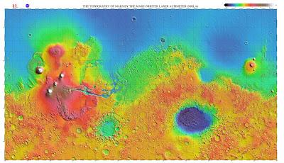 Mars Topographic
