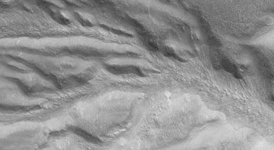 Mars Glacier