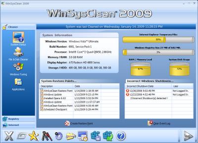 WinSysClean 2009